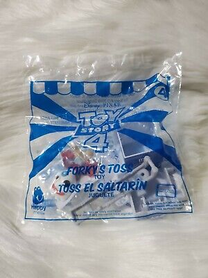 NEW McDonald's Disney Toy Story 4 Forky Toss #4 Happy Meal Toy 2019