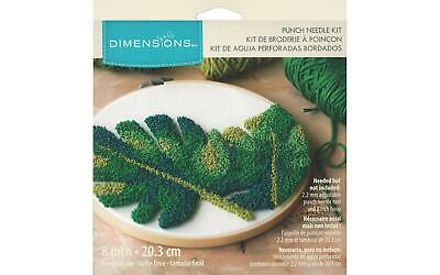 Dimensions Dim70025 Punch Needle Kit 8 Leaves