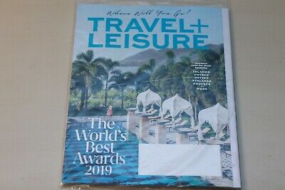 Travel And Leisure Magazine - August 2019 - The World's Best Awards 2019