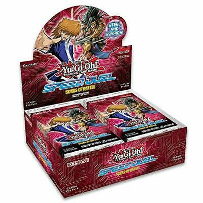 Yugioh Tcg Speed Duel Scars Of Battle Factory Sealed Booster Box (36 Packs)