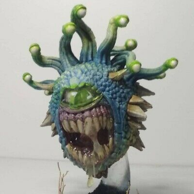 DUNGEONS & Dragons D&D Beholder Dipinto a Mano Nolzur's Miniature pro  painted