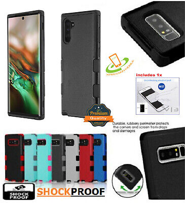 Samsung Galaxy Note 10 / PLUS HYBRID Armor Rubber Rugged Case Shockproof Cover