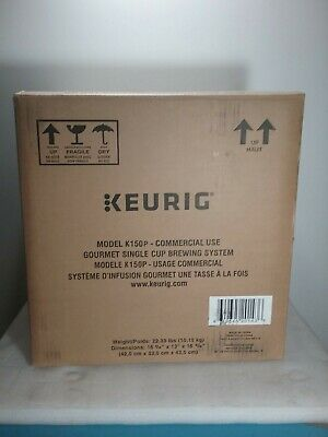 Keurig K150P Commercial Automatic Single Cup Brewing System Coffee Maker - New