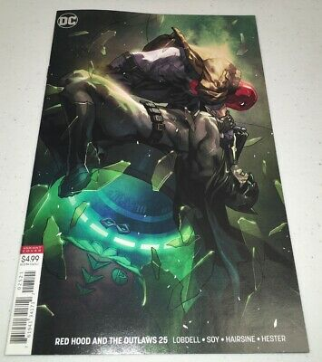 Red Hood And The Outlaws #25 Cover B DC 2018 Yasmine Putri Variant Batman