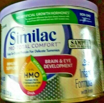 NEW Similac pro-total comfort infant formula with iron 7.6 oz can exp 07/01/2020
