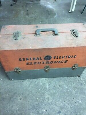 GE General Electric Service Box Tube Transistor Rectifier Vacuum TV Radio