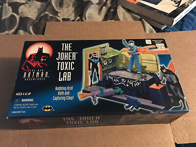 The New Batman Adventures  The Joker Toxic Lab Sealed in Box