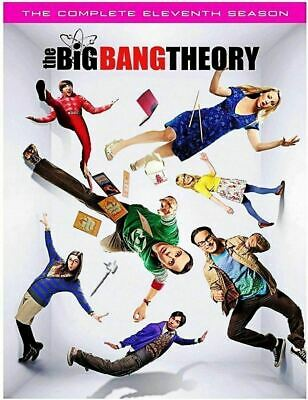 The Big Bang Theory Complete Eleventh Season 11 Dvd ---- Free Priority Shipping!