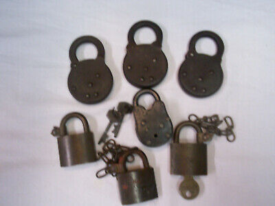 Vintage Reese and Corbin Padlocks and American U.S. lot