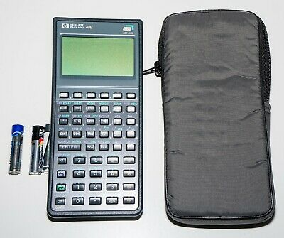 HP Hewlett Packard 48G Graphing Calculator with Original Cover