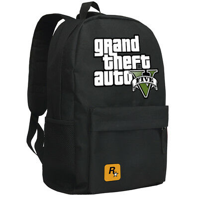 Game Grand Theft Auto V GTA 5 Cosplay Oxford Cloth Backpack Students School Bags
