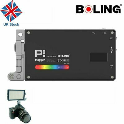 UK BOLING BL-P1 RGB LED Full Color Light Camera/Camcorder Video Light Panel