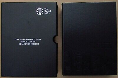 2014 Royal Mint Uk Proof Coin Set - Collectors Edition - 14 Coins