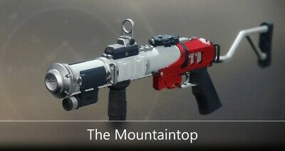 Destiny 2 - The Mountaintop Full Quest + 2100 Glory | PC Only