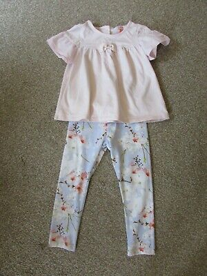Ted Baker girls 3-4 years top + leggings set - Recent / current stock - Exc con
