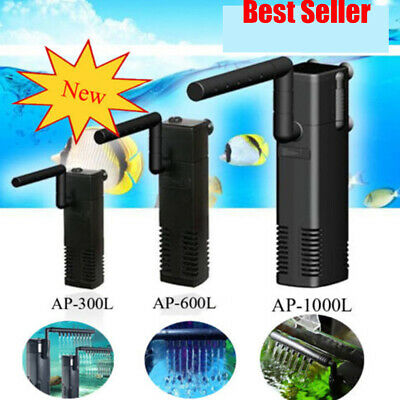 Fish Tank Filter Submersible For Internal Aquarium Spray Bar Size Optional K8W2P