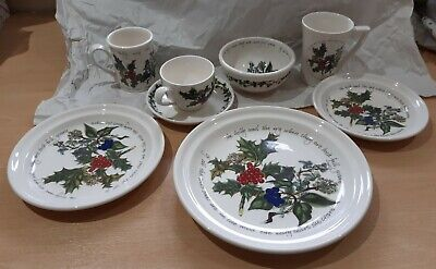 Portmeirion The Holly And The Ivy Tableware - Various - Plates - Bowls New
