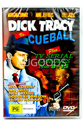 DICK TRACY VERSUS CUEBALL AND THE SHADOW STRIKES Double Feature 2