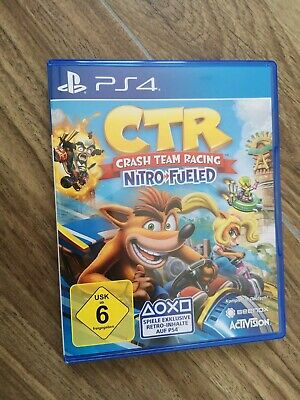 Crash Team Racing Nitro Fueled Sony Playstation 4 PS4 CRT USK6