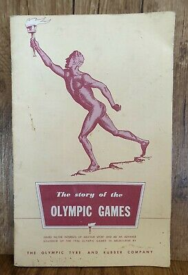 Story Of Olympic Games 1956 Melbourne Olympics Souvenir Olympic Tyres