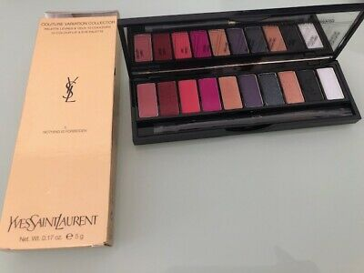 YSL Couture Variation Collector 10 Colour Lip & Eye Palette Make up set RRP £78