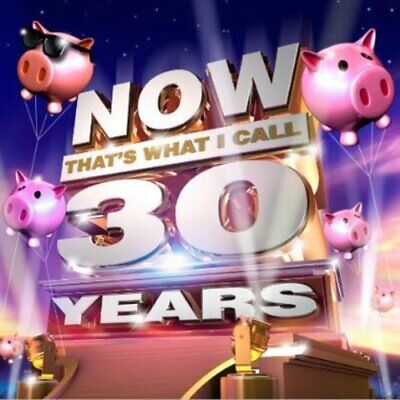 Now That's What I Call 30 Years [3 Cd] New & Sealed