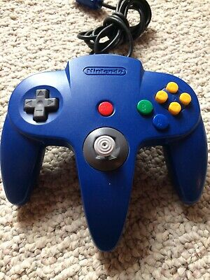 Authentic N64 Blue Controller Nintendo 64