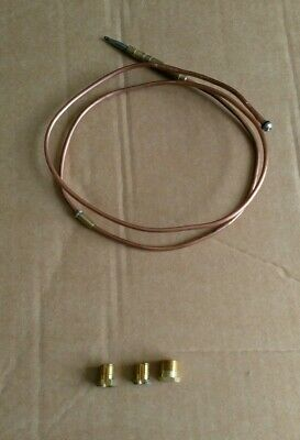 THERMOCOUPLE 850mm LONG FITS VARIOUS BOILERS / GAS APPLIANCES