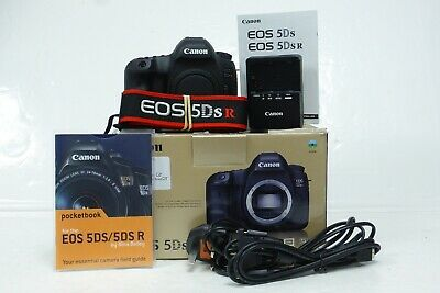 Canon EOS 5DS-R Digital SLR Camera Body Only boxed