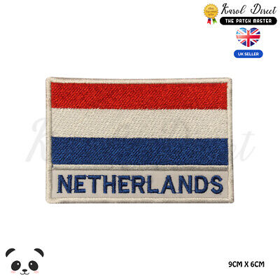 Switzerland National Flag Embroidered Iron On Sew On PatchBadge For Clothes Etc