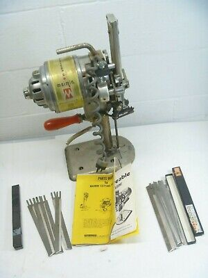 Maimin Fabric Cutting MachineIndustrial Powercrest 2 Straight Knife Blade As is