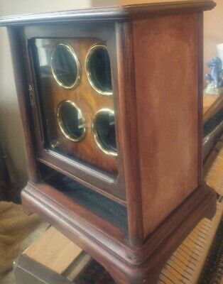 4 Automatic Watch Winder VINTAGE hand made by Italian artist and inventor.