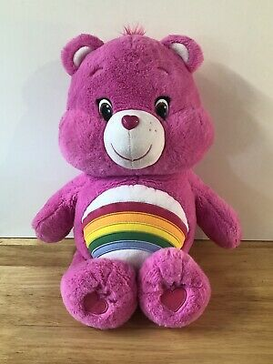 "20"" Cheer Bear Care Bears Plush Teddy"