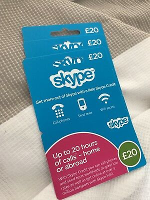 £60 Skype Credit - UK £60 Card - United Kingdom
