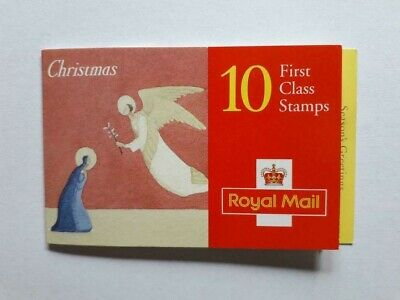 Book Of 10 Mint Unused First Class Christmas 1996 Stamps With Full Original Gum