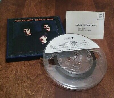 THREE DOG NIGHT SUITABLE FOR FRAMING REEL TO REEL DUNHILL Blue Box
