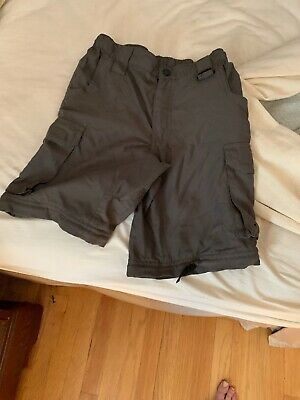 Boy Scouts of America BSA Green Convertible Switchback Uniform Pants Youth M