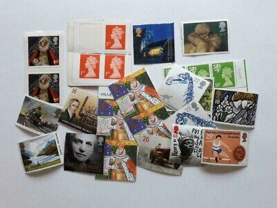£10 Face Value Mint Unused Stamps With Full Original Gum But Very Minor Faults