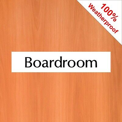 30x8cm Dunny Toilet Door Tin Sign or Decal