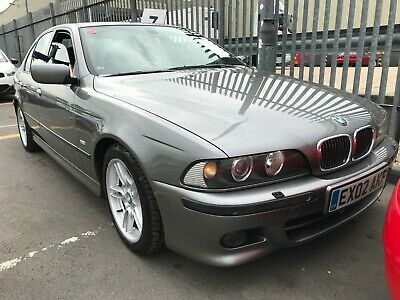 02 Bmw 535I 3.5 Sport V8 - *Rare* 93K Miles,Sat Nav, H/Seats, Sunroof, Leather,