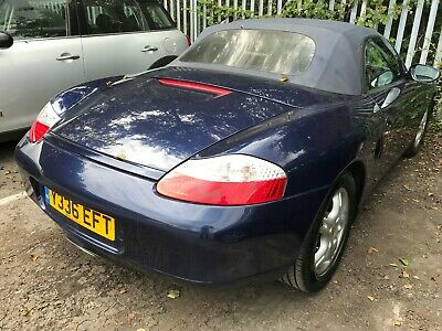 01 Porsche Boxster 2.7 - Convertible, Leather, Alloys, Climate, Lovely Looking