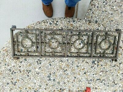 """Copper ++ BEAUTIFUL Fireplace Architectural Salvage 7 1/4"""" x 28"""" Approx"""