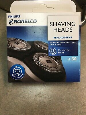 Philips Norelco Shaving Heads Replacement, Shaver Series 1000-3000/ SH30/52 6672