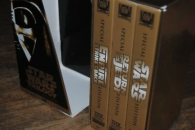 Box Set 3 X Vhs Video Star Wars - Special Edition