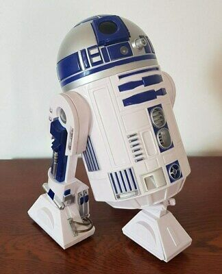 Large Interactive R2-D2 Moves, Lights Up, Talks, 2 Modes, 27cm Tall VGC.