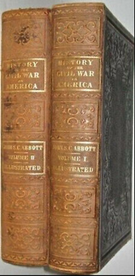 LEATHER Set;CIVIL WAR!United States Lincoln Grant(FIRST EDITION! 1863)RARE! GIFT