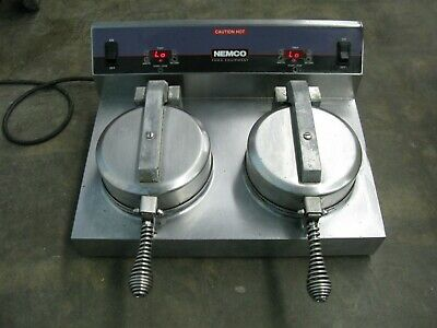 Nemco - 7030A-2 - Dual 7 in Waffle Cone Baker
