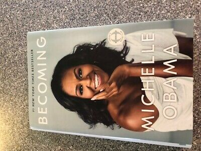 Becoming by Michelle Obama Hardcover