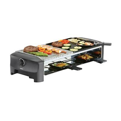 Raclette 8 Stone & Grill Party Princess 162820