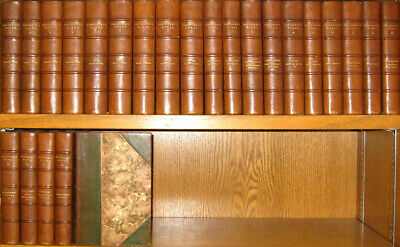 LEATHER Set;WILLIAM MAKEPEACE THACKERAY WORKS!Charles Dickens(FIRST EDITION)1869